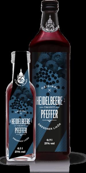 Original Dresdner Heidelbeer-Pfeffer Likör